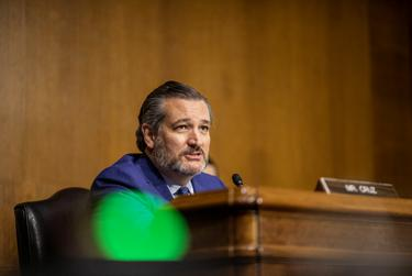 U.S. Senator Ted Cruz, R-Texas, during a hearing at the U.S. Capitol in Washington D.C. in December of 2020.