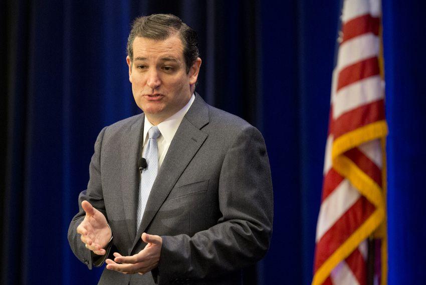 U.S. Sen. Ted Cruz of Texas at Texas Public Policy Foundation speech on Jan.10, 2014.