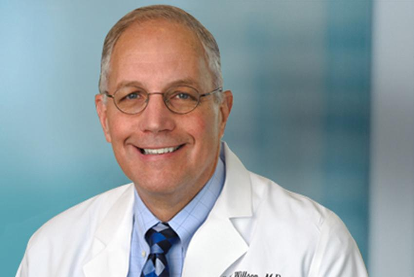 Dr. James Willson is the director of the Simmons Cancer Center at UT Southwestern.