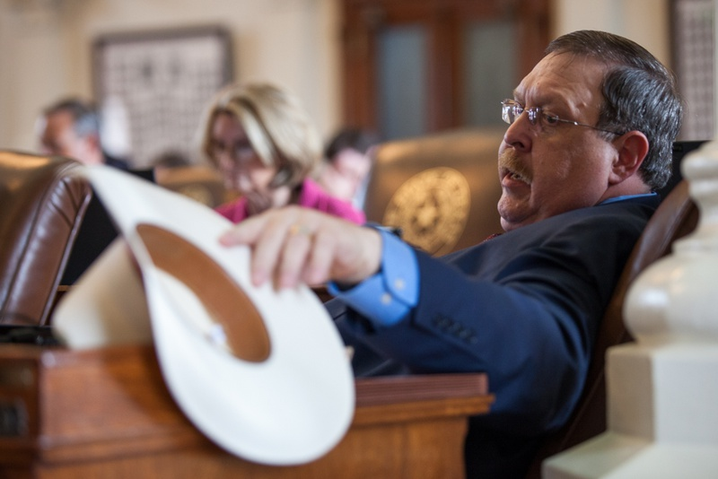 State Rep. Cecil Bell Jr., R-Magnolia, on the House floor on May 7, 2015.