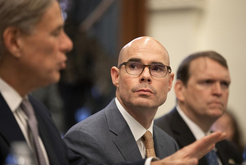 House Speaker Dennis Bonnen during a press conference on a Domestic Terrorism Task Force roundtable held at the Capitol on J…