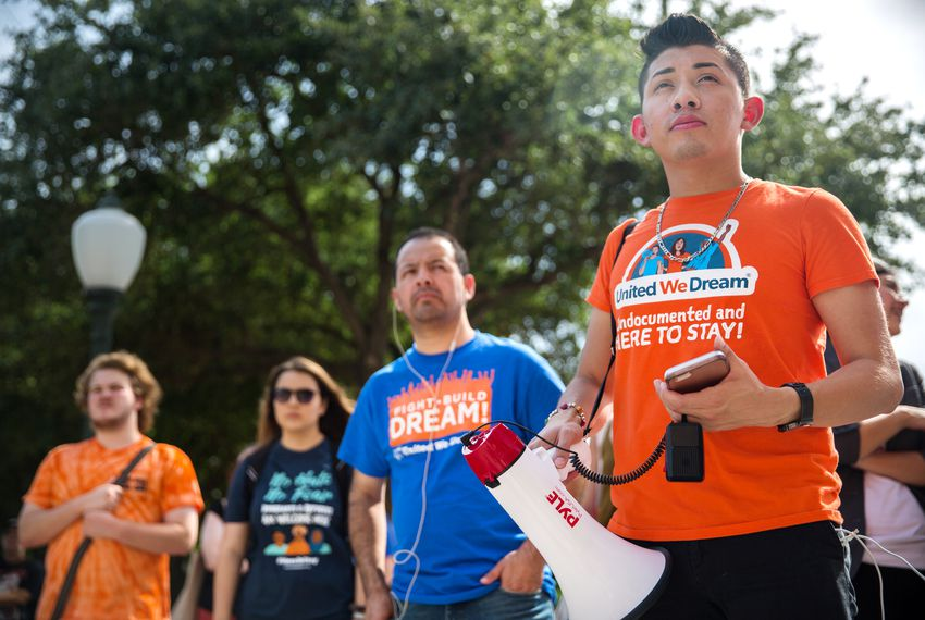 "Undocumented immigrants known as ""dreamers"" are still living in a state of limbo."