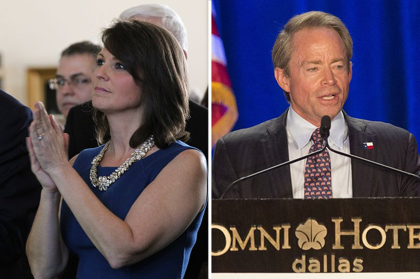 Angela Paxton and Phillip Huffines could be vying in the Republican primary for the Texas Senate seat vacated by Van Taylor, R-Plano, who is running for U.S. Congress.