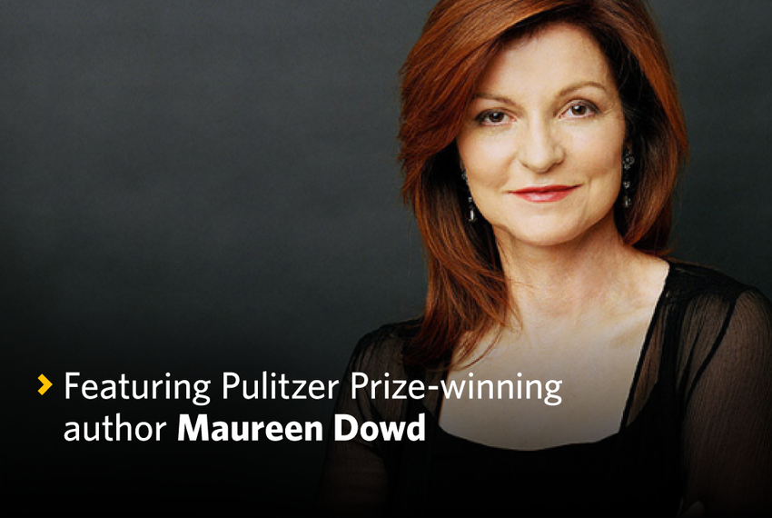 TribFeast 2016 Maureen Dowd