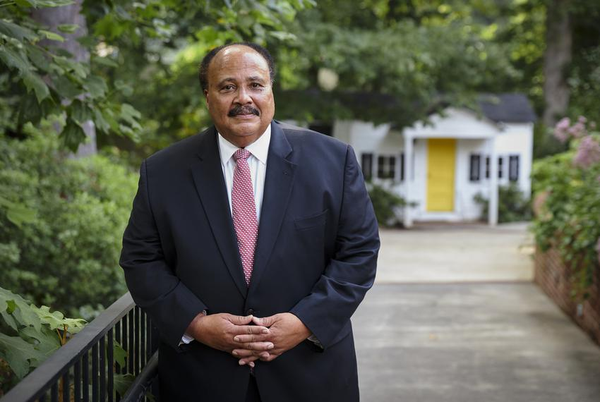 Martin Luther King III at the Atlanta History Center. MLK III is the oldest son of the late Rev. Dr. Martin Luther King Jr. …