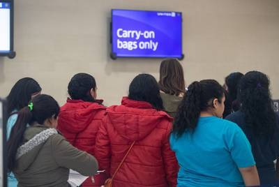 The last six of the 38 families that were separated at the border and detained in Dilley from July to November were released at the San Antonio airport on Nov. 30.