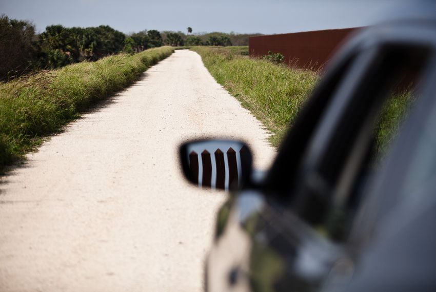 Customs and Border Patrol agents constantly patrol wide gravel roads along the border fence. The traffic — which has increased as border enforcement budgets have soared — is another threat to border wildlife, according to scientists and conservationists.