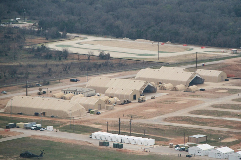 Fort Hood military post located outside of Killeen, Texas