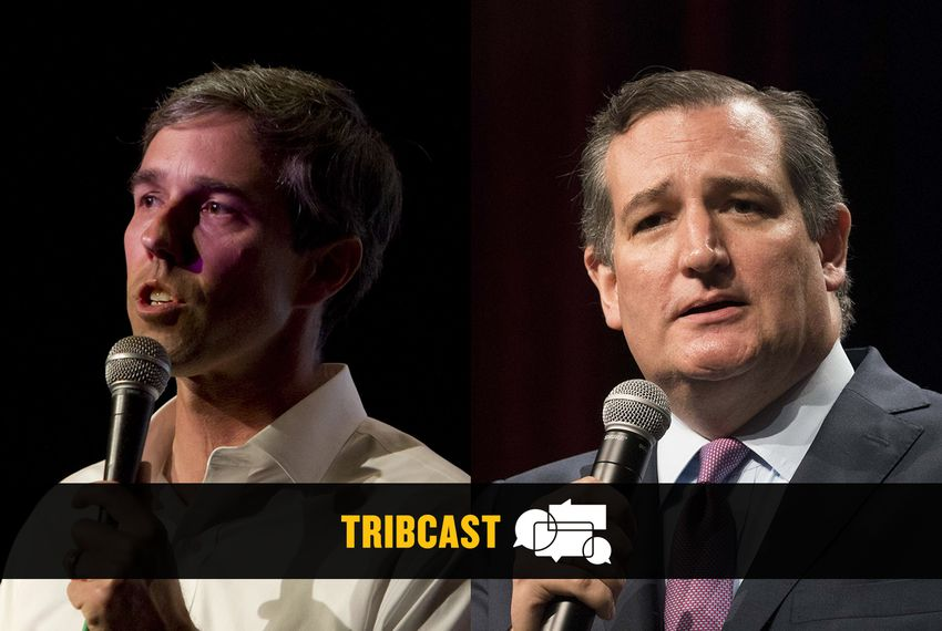 U.S. Rep. Beto O'Rourke, D, El Paso (left), and U.S. Sen Ted  Cruz.