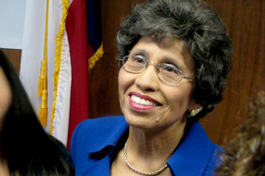Democrat Linda Chavez-Thompson on January 4, 2010