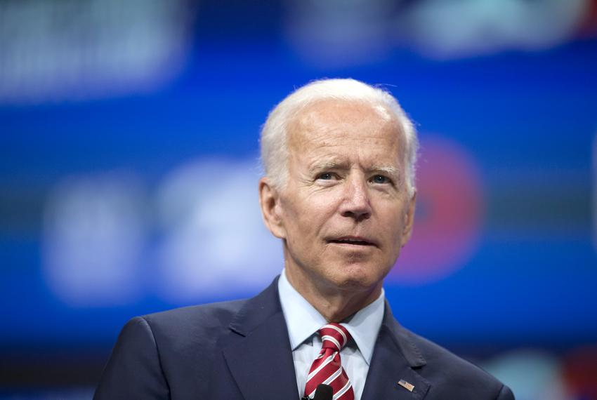 Joe Biden at the National Education Association presidential forum in Houston on July 5, 2019.