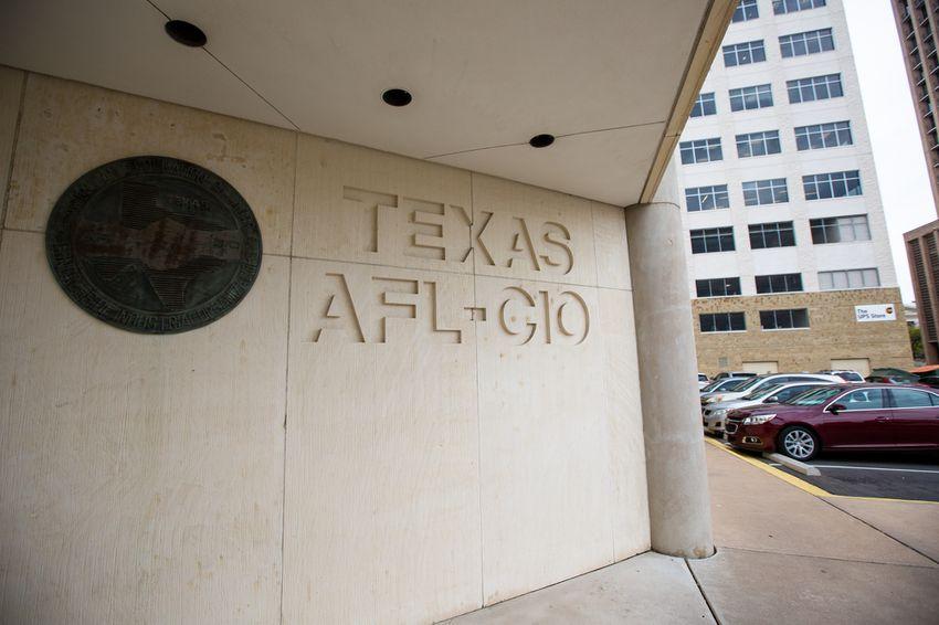 The headquarters of Texas AFL-CIO in downtown Austin, Texas.