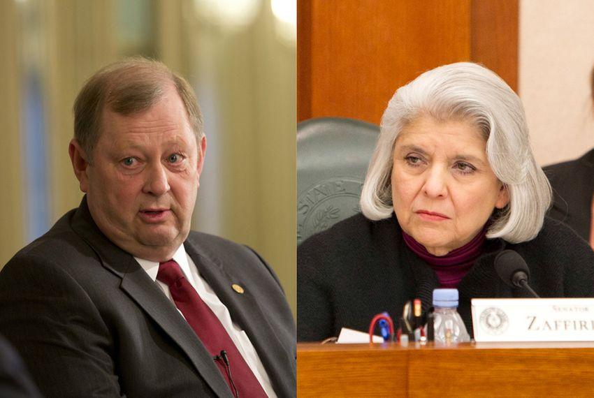 State Rep. John Otto, R-Dayton, and state Sen. Judith Zaffirini, D-Laredo.