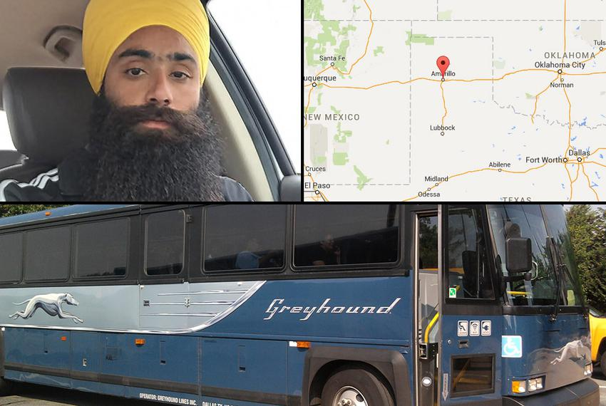Daljeet Singh, an Indian seeking asylum in the United States, was riding a Greyhound bus when a fellow passenger decided he …