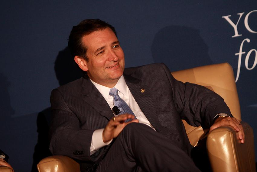 U.S. Ted Cruz speaking at the 2013 Young Americans for Liberty National Convention at George Mason University in Arlington, …