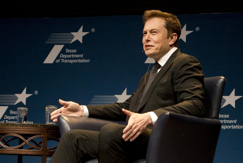 Elon Musk, the CEO and of SpaceX and Tesla Motors, spoke at the Texas Transportation Forum in Austin on Jan. 15, 2015.