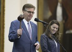 Lt. Gov. Dan Patrick gaveled out the Senate at 1:24 a.m. on July 20 after the upper chamber approved crucial sunset legislation to keep several state agencies alive.