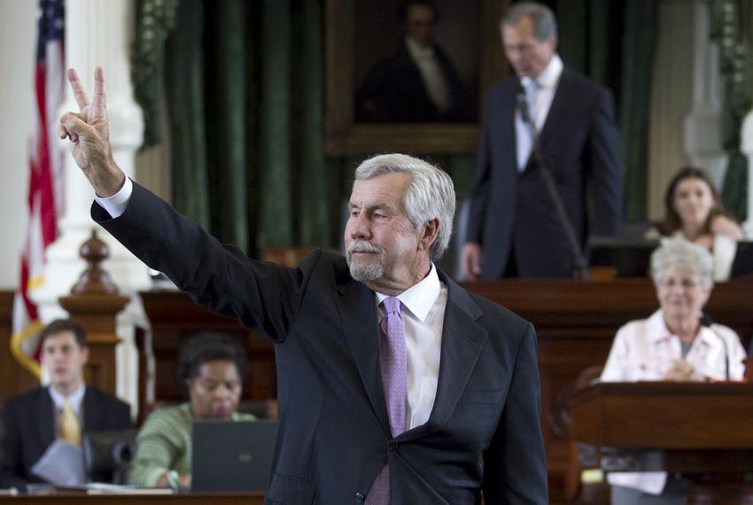 Sen. Troy Fraser, R-Marble Falls, in 2013.