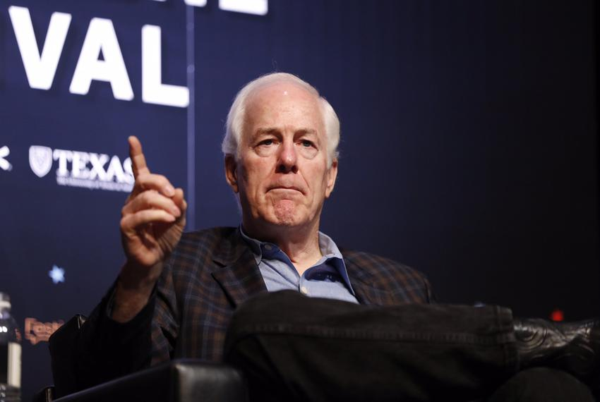 U.S. Sen. John Cornyn, R-Texas, at the 2017 Texas Tribune Festival.