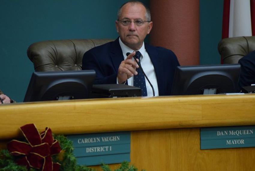 Dan McQueen, former mayor of Corpus Christi, resigned after 37 days in office.