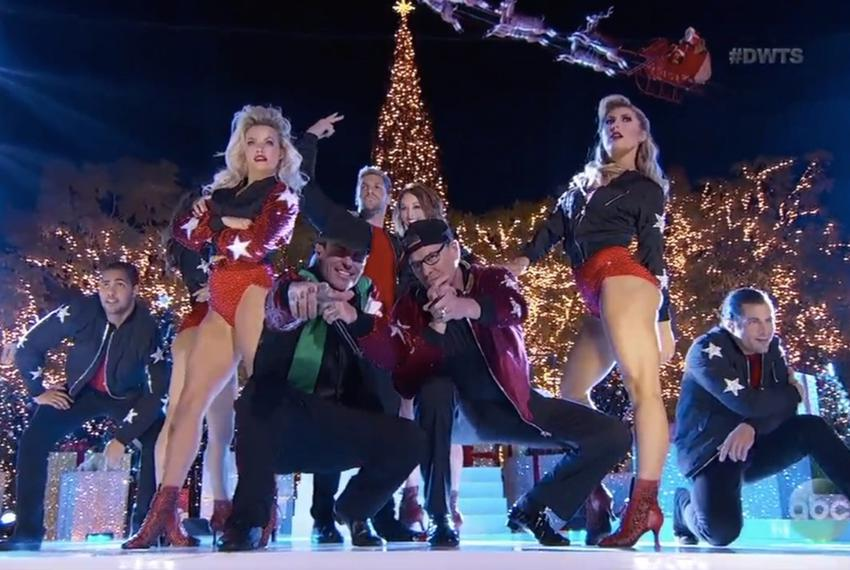 """Former Gov. Rick Perry returned to """"Dancing with the Stars"""" on Tuesday for an appearance on its season finale. Perry was e..."""