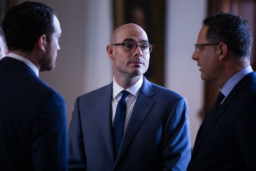 House Speaker Dennis Bonnen has told reporters he would not tolerate incumbents campaigning against other House members, regardless of political party.