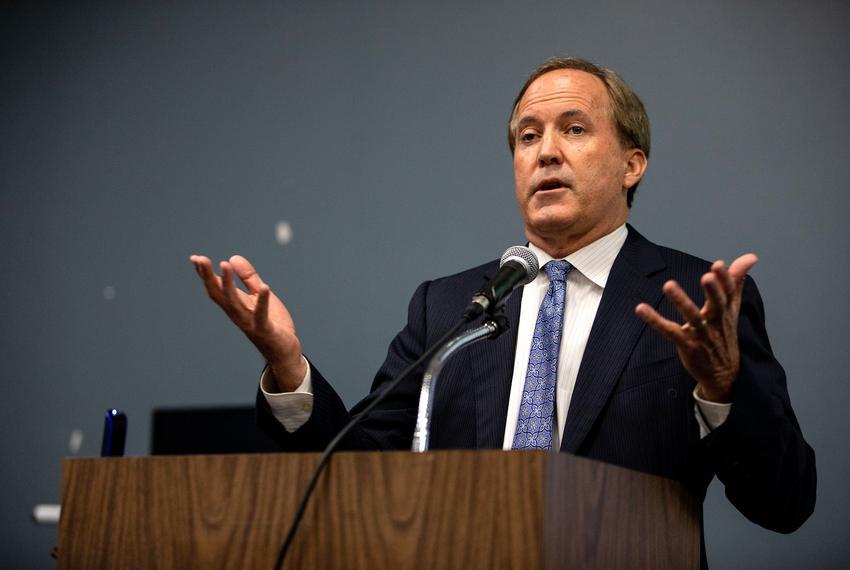 Attorney General Ken Paxton.
