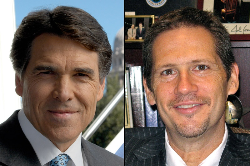 Rick Perry and Jeffrey Boyd