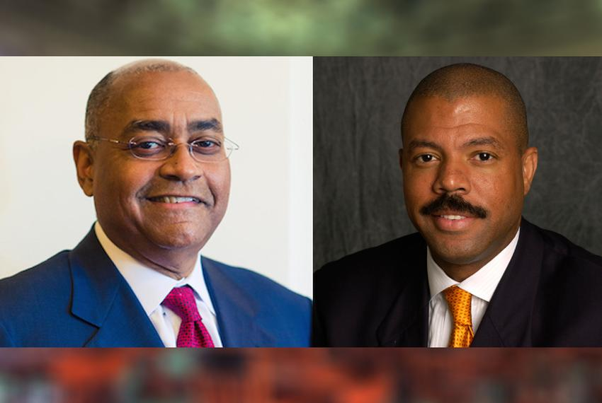Outgoing state Sen. Rodney Ellis, D-Houston, and state Rep. Borris Miles, D-Houston, chosen by a majority of precinct chairs…