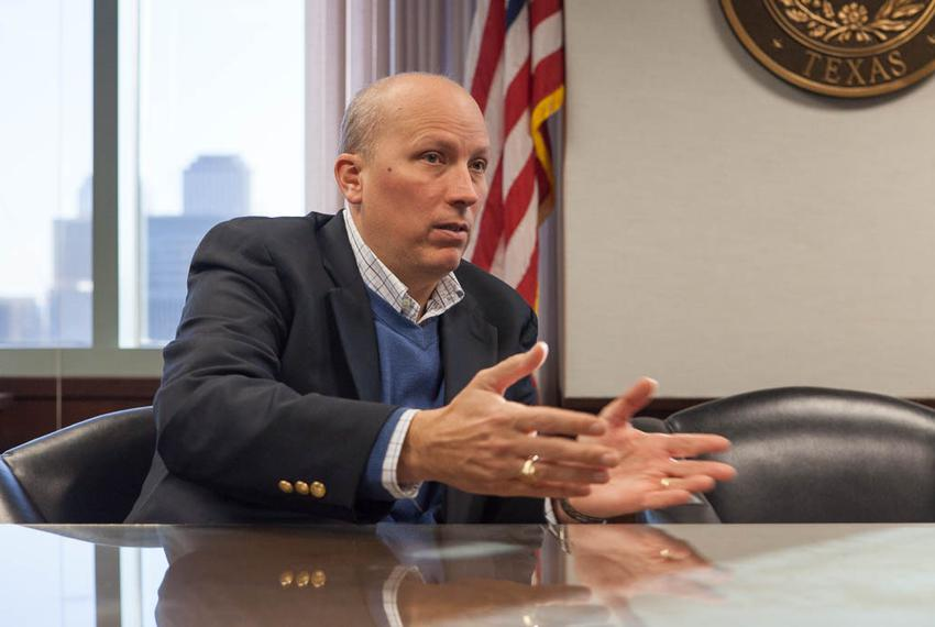 Chip Roy sits down with Tribune reporter Julián Aguilar to discuss immigration and the Attorney General on Feb. 1, 2016.