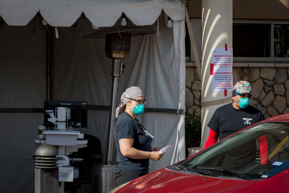El Paso During Coronavirus Pandemic EK TT 31.'