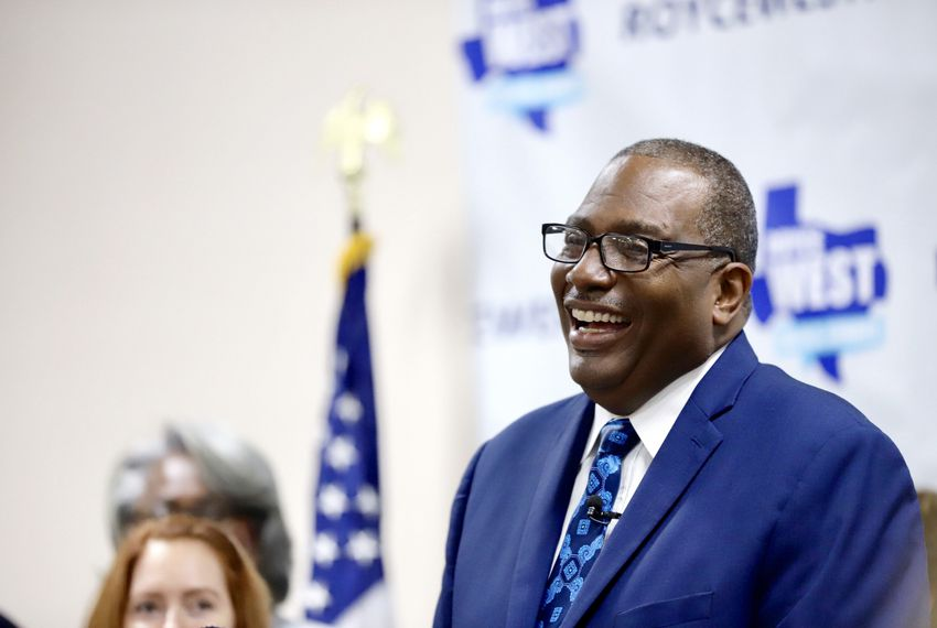 State Sen. Royce West, D-Dallas, has joined a crowded Democratic primary to unseat U.S. Sen. John Cornyn.