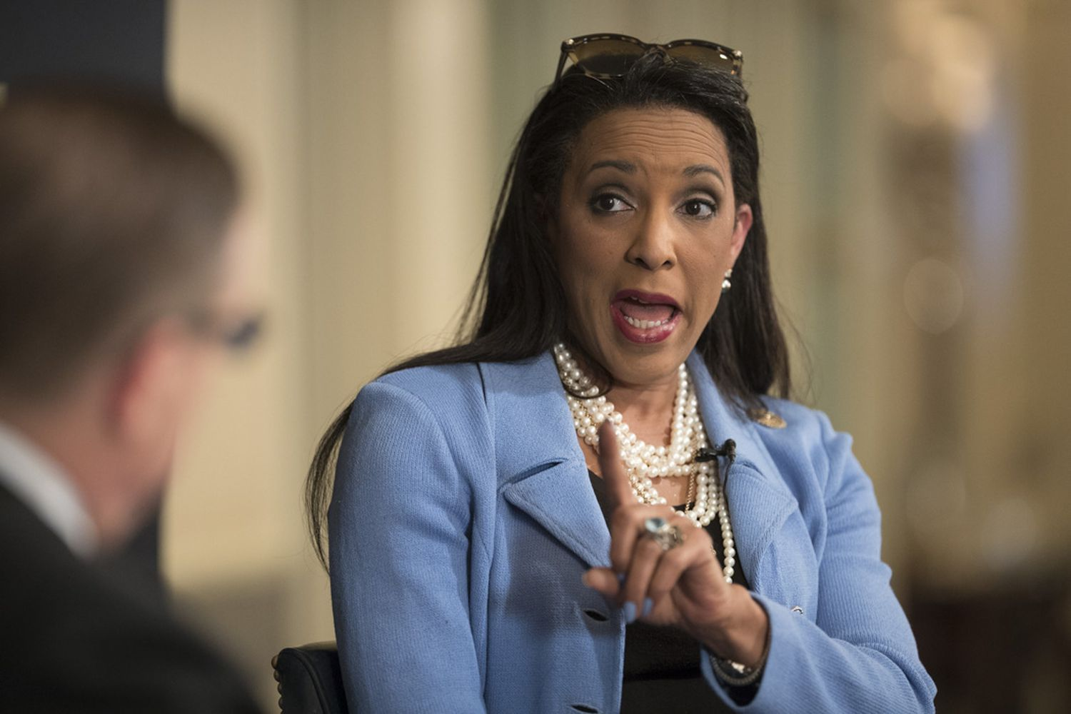 State Rep. Dawnna Dukes, D-Austin, says she's healthy enough to serve another term in the Texas House during a conversation on Nov. 7, 2017 at the Austin Club.