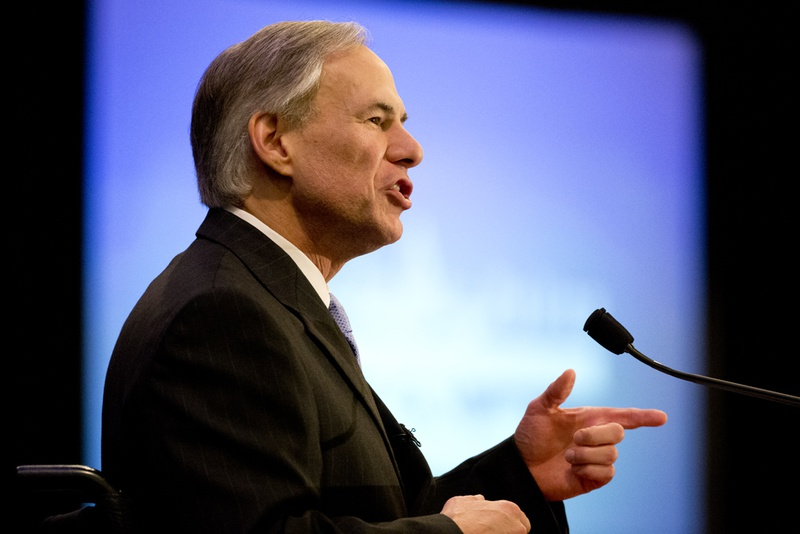Candidate for governor Greg Abbott outlines his vision for Texas in a speech to TPPF on Jan. 10. 2014