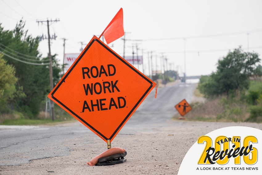 Road crews are prolific in the Midland region following the recent oil boom, when heavy truck traffic obliterated highways.
