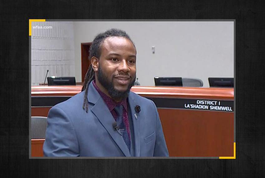 McKinney City Councilman La'Shadion Shemwell.