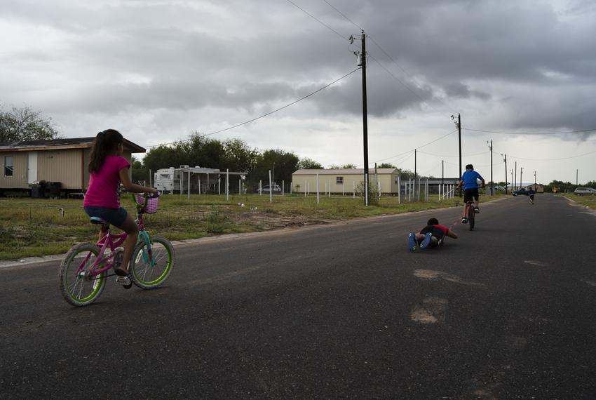 A neighborhood in Mission, Texas, a city in the Rio Grande Valley near the U.S./Mexico border.