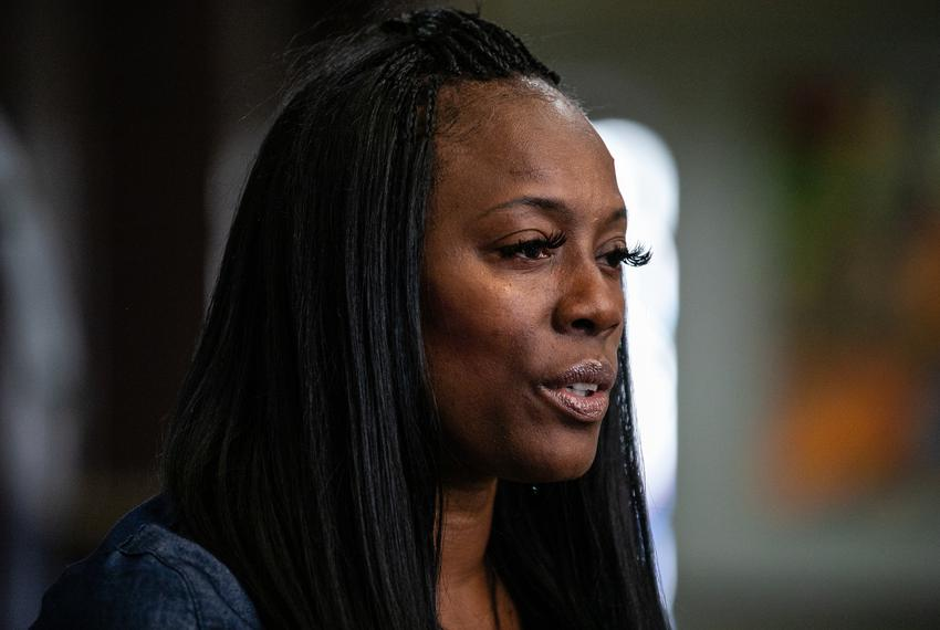 Crystal Mason spoke about being accused of voter fraud and her upcoming court case on on Sept. 9 2019 in Fort Worth.