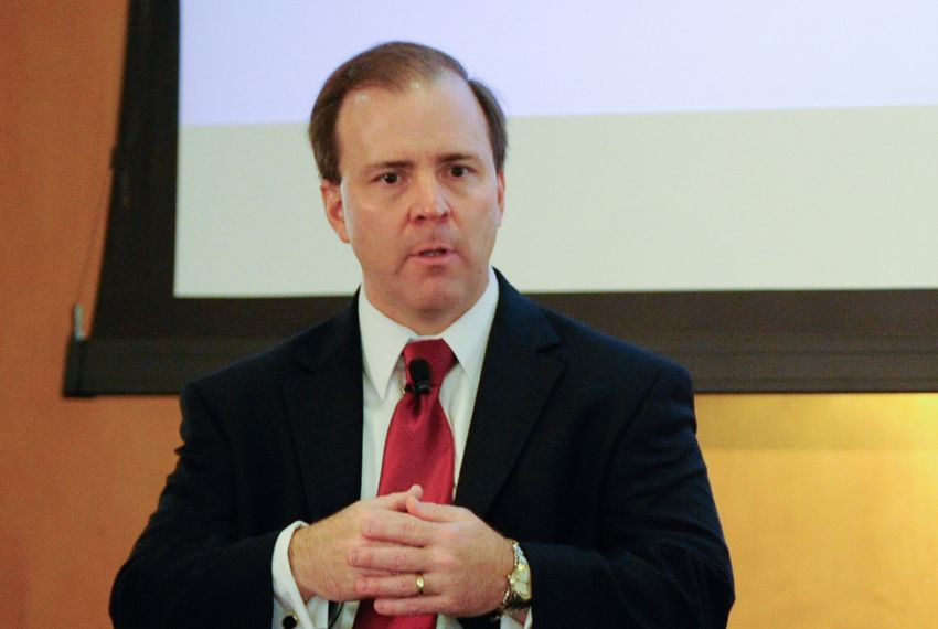 Chris Traylor at The Texas Tribune Festival in 2012.