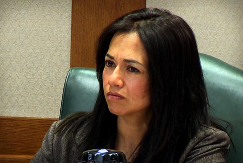 State Rep. Tara Rios-Ybarra, in Austin on April 28, 2010.