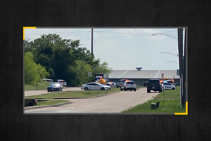 Multiple injuries were reported after a shooting at Kent Moore Cabinets in Bryan.