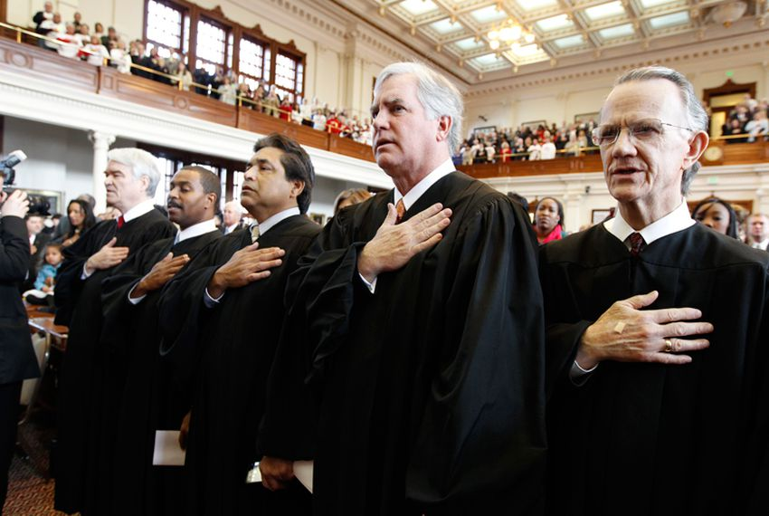 Justices of the Texas Supreme Court