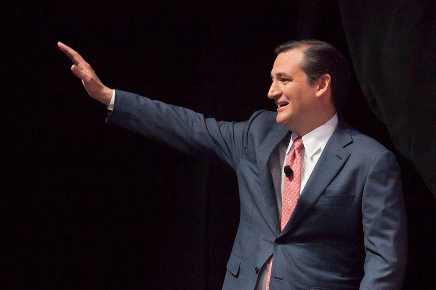 U.S. Sen. Ted Cruz in Houston on May 3, 2013.