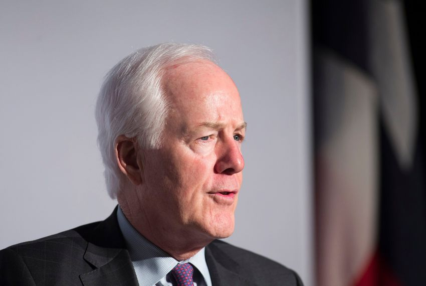 U.S. Sen. John Cornyn had $5.8 million in cash on hand at the beginning of this year, according to his campaign.