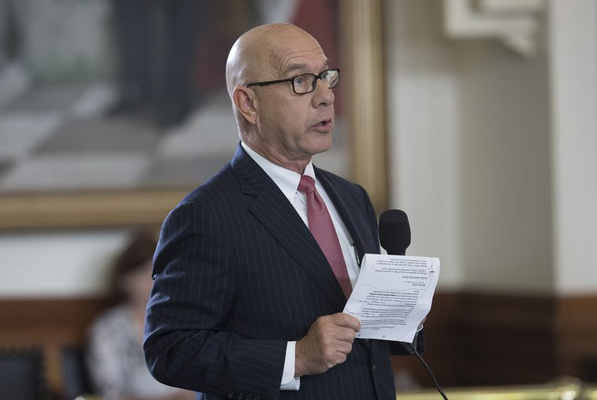 State Sen. John Whitmire, D-Houston, talks about the Sandra Bland Act, which would reform interactions between jailers and inmates with mental health issues on May 11, 2017.  The bill passed unanimously in the Senate.