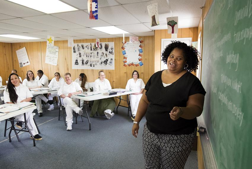 The Texas Department of Criminal Justice recently launched a 6-month program that helps women at the Marlin Transfer Facil...