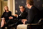 The Tribune's Emily Ramshaw, Evan Smith, Ross Ramsey and Patrick Svitek discuss the end of the special session during a Live TribCast at the Austin Club on August 15, 2017.