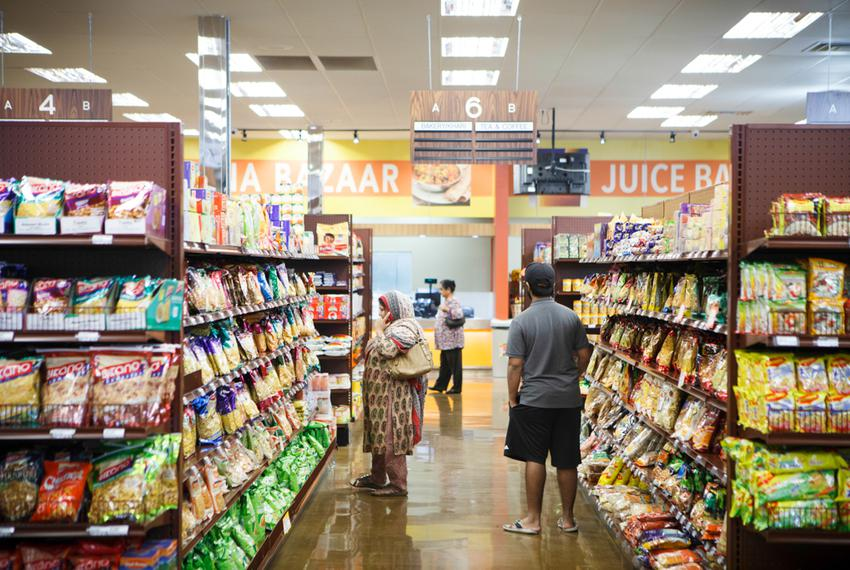 Keemat Grocers, an Indian grocery store in Sugar Land, serves Fort Bend county's diverse population.