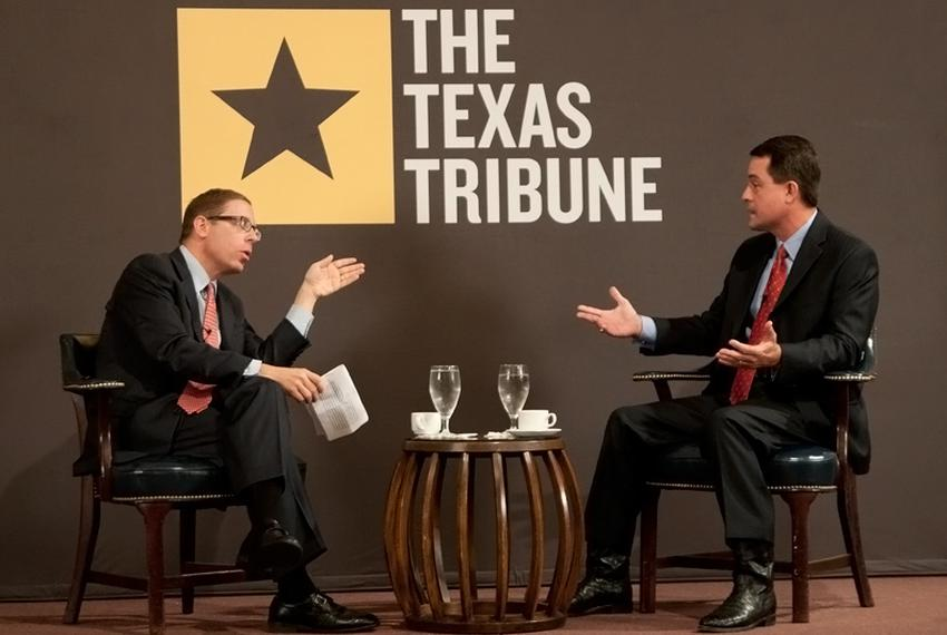 Commissioner of Agriculture Todd Staples at TribLive on  May 12, 2011.