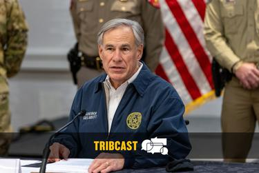 Gov. Greg Abbott speaks at a press conference regarding Texas' emergency response to an unprecedented winter storm gripping Texas on Feb 13, 2021.